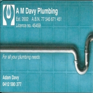 A M Davy Plumbing