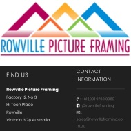 Rowville Picture Framing